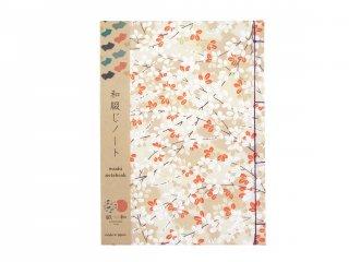 和綴じノート(花畑)