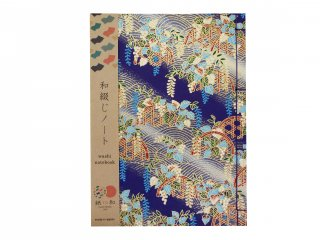 和綴じノート(桜鶴)