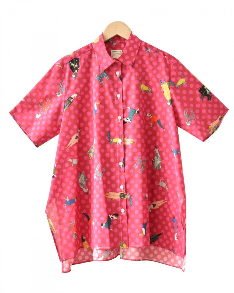 フレアシャツ(コットン)