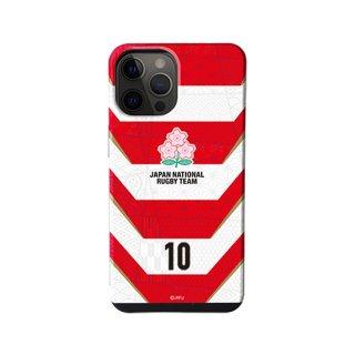 ラグビー日本代表iPhoneケース「ファーストジャージー」背番号付き