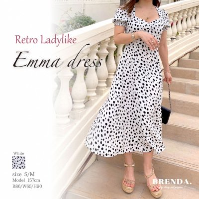 Retro Ladylike Emma dress