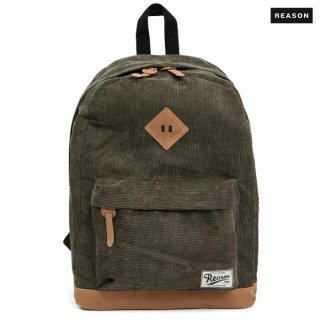 REASON CLOTHING CORDUROY BACKPACK【OLIVE】