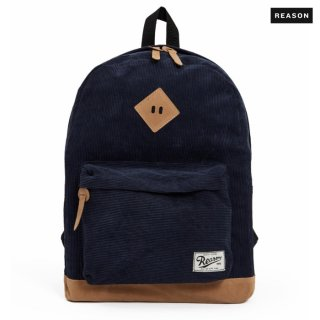 REASON CLOTHING CORDUROY BACKPACK【NAVY】