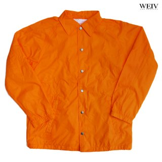 【11月限定早割り10%OFF】WEIV COACH JACKET【ORANGE】