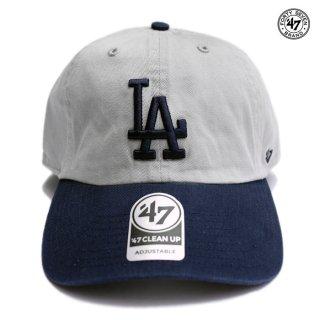 【メール便対応】【ラスト1点】47 BRAND CLEAN UP CAP LOS ANGELES