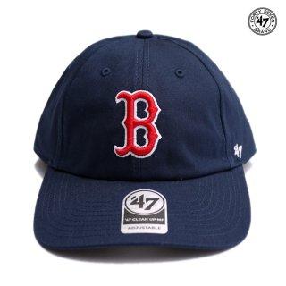 ラスト1点◆47 BRAND CLEAN UP MF CAP RED SOX【NAVY】