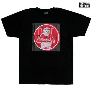【MIX CDプレゼント】【メール便対応】LOCOHAMA CLOTHING PRINT Tシャツ【BLACK】