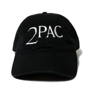 【メール便対応】2PAC STRAPBACK CAP【BLACK】