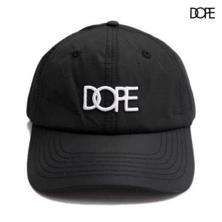 【メール便対応】DOPE CORE DAD HAT【BLACK】