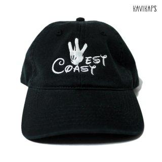 【メール便対応】KAVI KAP$ WEST COAST STRAP BACK CAP【BLACK】