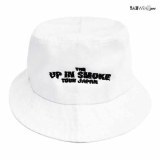 【メール便対応】YAHWEHS EYES 420 LIMITED BUCKET HAT【WHITE】【UP IN SMOKE】
