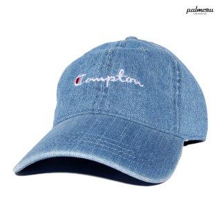 【メール便対応】PALMCRU COMPTON STRAP BACK CAP【DENIM】