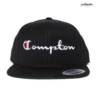 PALMCRU COMPTON SNAP BACK CAP【BLACK】