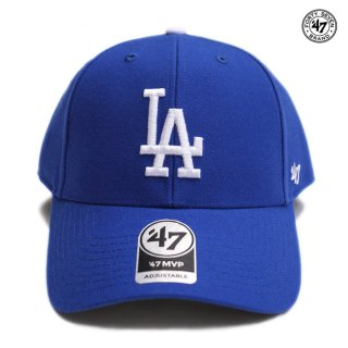 <img class='new_mark_img1' src='https://img.shop-pro.jp/img/new/icons59.gif' style='border:none;display:inline;margin:0px;padding:0px;width:auto;' />47 BRAND MVP CAP LOS ANGELES DODGERS【ROYAL BLUE】
