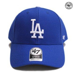 47 BRAND MVP CAP LOS ANGELES DODGERS【ROYAL BLUE】