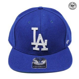 【ラスト1点】47 BRAND FOWLER CAPTAIN CAP LOSANGELES DODGERS【ROYAL BLUE】
