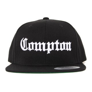 COMPTON SNAPBACK CAP【BLACK】