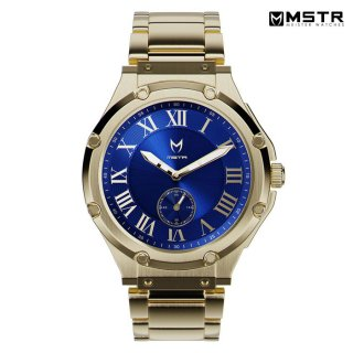 【送料無料】MSTR WATCHES ULTRA【GOLD/BLUE/SS BAND】【AU113SS】