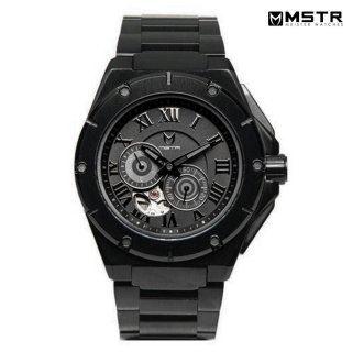 【送料無料】MSTR WATCHES NOBLE【AUTOMATIC】【BLACK/SS BAND】【MJ110CB】