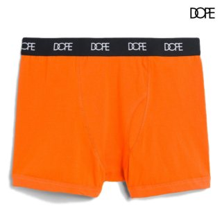 【メール便対応】DOPE LOGO BOXER BRIEFS【ORANGE】