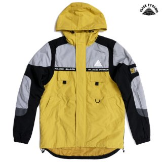 【送料無料】BLACK PYRAMID RIP STOP TECH JACKET【YELLOW】