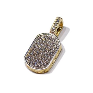 【送料無料】LAX JEWELRY 10K DOGGTAG CHARM【YELLOW GOLD】