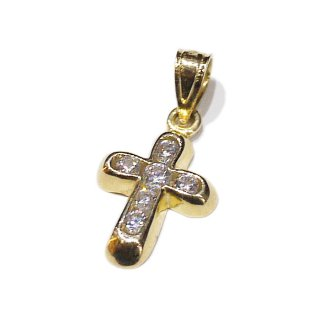 LAX JEWELRY 10K CROSS CHARM【YELLOW GOLD】