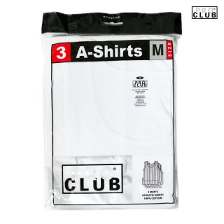 【3枚セット】PRO CLUB A-SHIRTS【WHITE】【1 PACK 3PIECES】