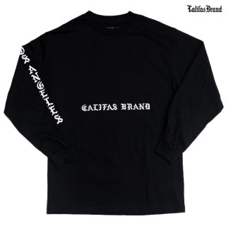【期間限定★50%OFF】CALIFAS L/S Tシャツ【BLACK】
