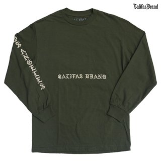 CALIFAS L/S Tシャツ【OLIVE】