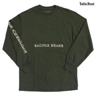 【ラスト1点】CALIFAS L/S Tシャツ【OLIVE】