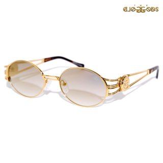 【送料無料★ラスト1点】THE GOLD GODS × FABOLOUS SUNGLASSES【GOLD×BROWN】