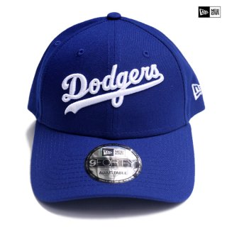 【ラスト1点】NEW ERA STRAPBACK CAP LOS ANGELES DODGERS【BLUE】