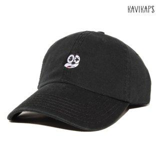 【メール便対応】KAVI KAP$ STRAP BACK CAP【BLACK】