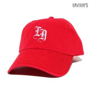 【メール便対応】KAVI KAP$ STRAP BACK CAP【RED】
