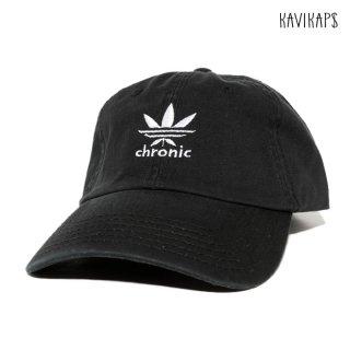 【メール便対応】KAVI KAP$ CHRONIC STRAP BACK CAP【BLACK】