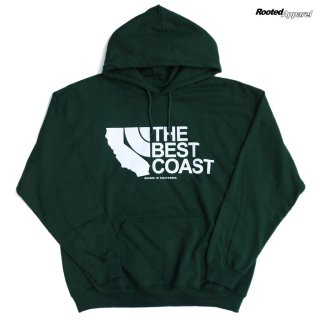 【ラスト1点】ROOTED APPAREL HOODIE【DARK GREEN】