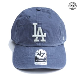 【メール便対応】47 BRAND CLEAN UP CAP LOS ANGELES DODGERS【VINTAGE NAVY】