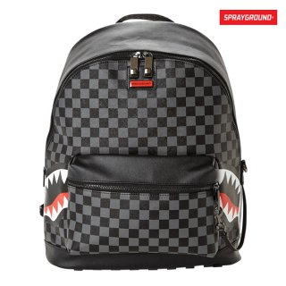 【送料無料】SPRAYGROUND SHARKS IN PARIS BACK PACKS【GRAY】