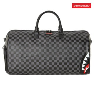 【送料無料】SPRAYGROUND SHARKS IN PARIS DUFFLE BAG【GRAY】