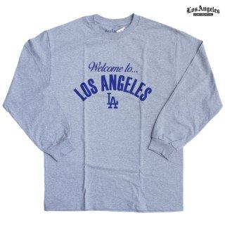 LA CONFIDENTIAL L/S Tシャツ【H.GRAY】