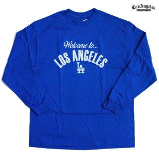 LA CONFIDENTIAL L/S Tシャツ【ROYAL BLUE】