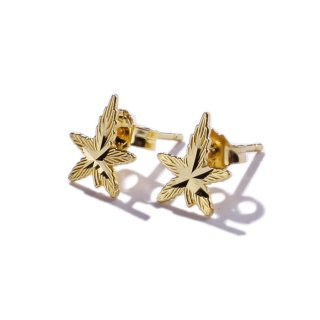 LAX JEWELRY 10K PIERCE SET【YELLOW GOLD】