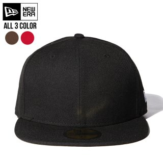 <img class='new_mark_img1' src='https://img.shop-pro.jp/img/new/icons20.gif' style='border:none;display:inline;margin:0px;padding:0px;width:auto;' />【SALE★50%OFF】NEW ERA CAP PLAIN CAP【BLACK / RED / BROWN】