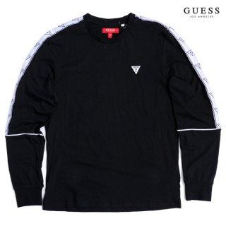 GUESS HUEY L/S Tシャツ【BLACK】