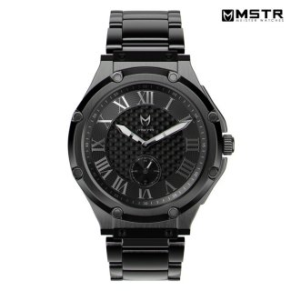 【送料無料】MSTR WATCHES ULTRA SLIM【BLACK/SS BAND】【AU112SS】