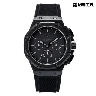【送料無料】MSTR WATCHES AMBASSADOR X【BLACK/BLACK/RUBBER BAND】