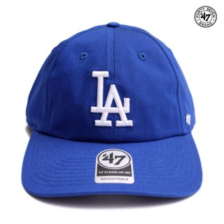 47 BRAND CLEAN UP MF CAP LOS ANGELES DODGERS ESTATE【ROYAL BLUE】