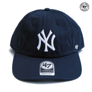 47 BRAND CLEAN UP CAP NEW YORK YANKEES ESTATE【NAVY】