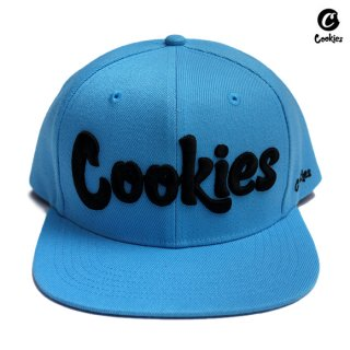COOKIES SF SNAPBACK CAP【COOKIES BLUE】